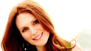 Julianne Moore Keeps It Light