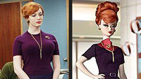 Joan Holloway Barbie Loses Curves