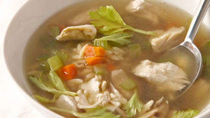 Toms chicken soup