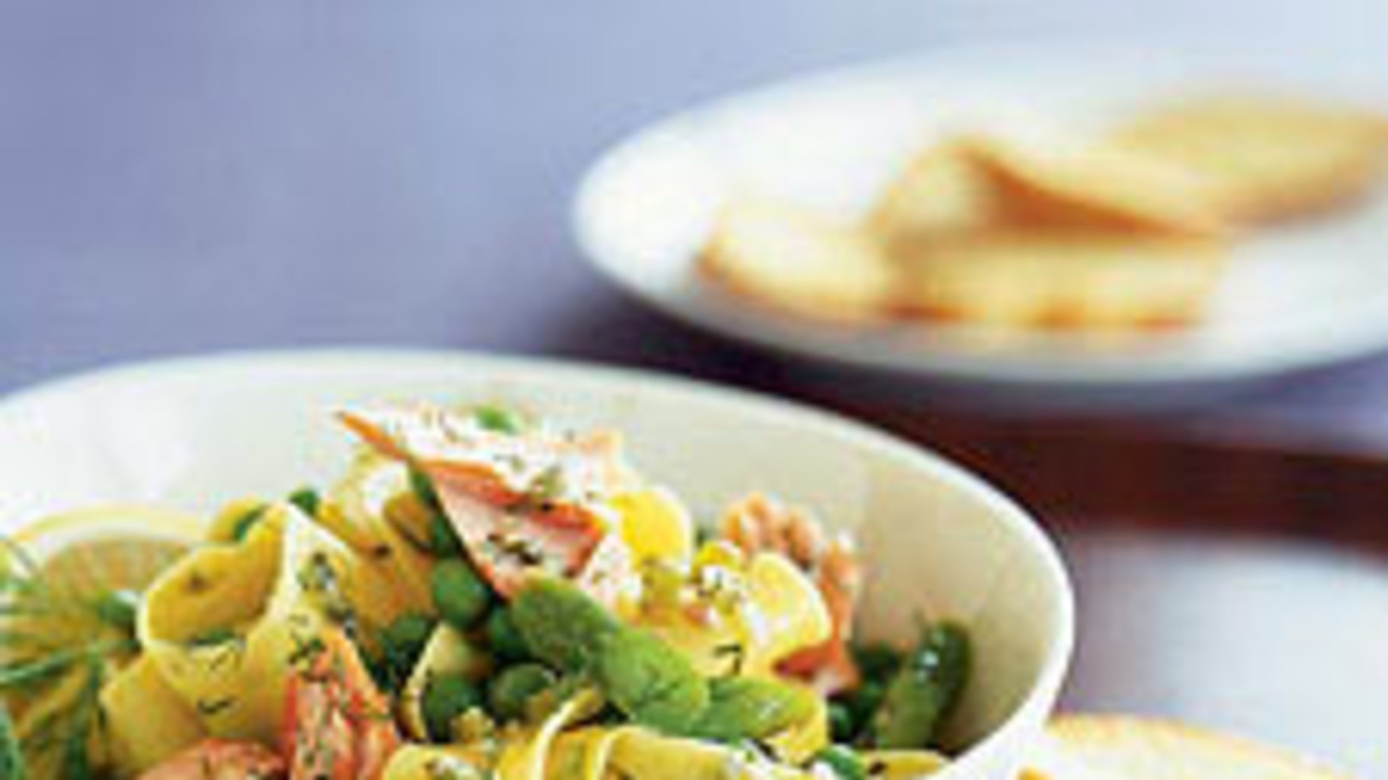 Healthy Hospitality Starts With Fresh Salmon Pasta