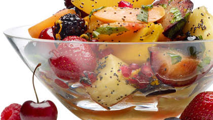 Chilled Tutti Frutti Poppy Seed Salad