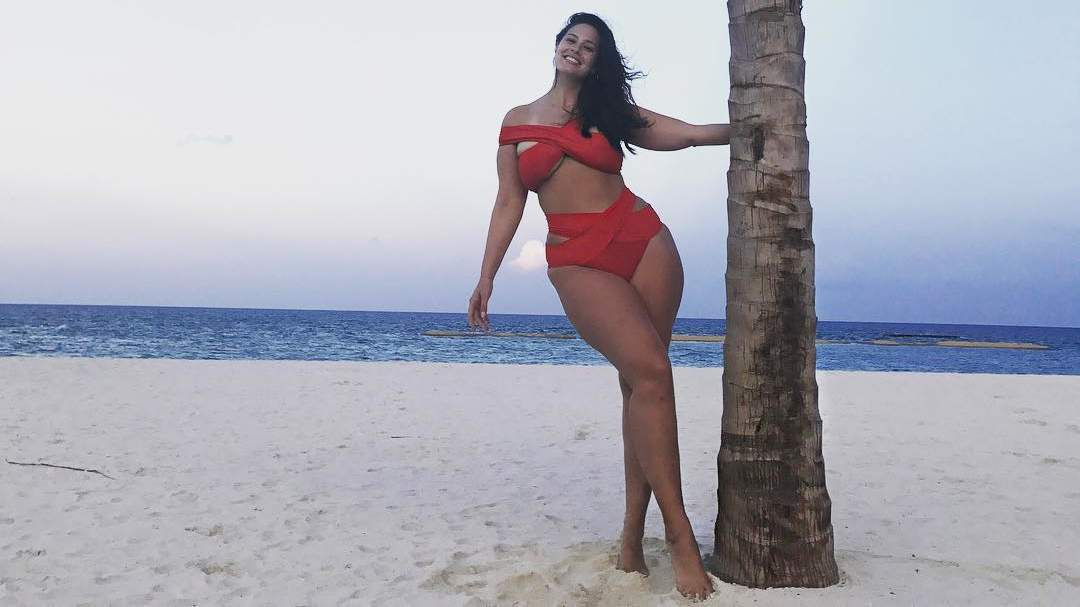 Ashley Graham Shares aBikini Hack That Will Save You From Dreaded 'Halter Ache'