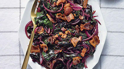 bacony-beet-greens