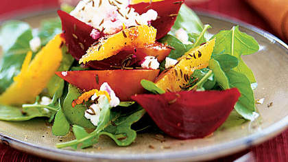Image result for Beet, Orange and Ricotta Salad by health.com