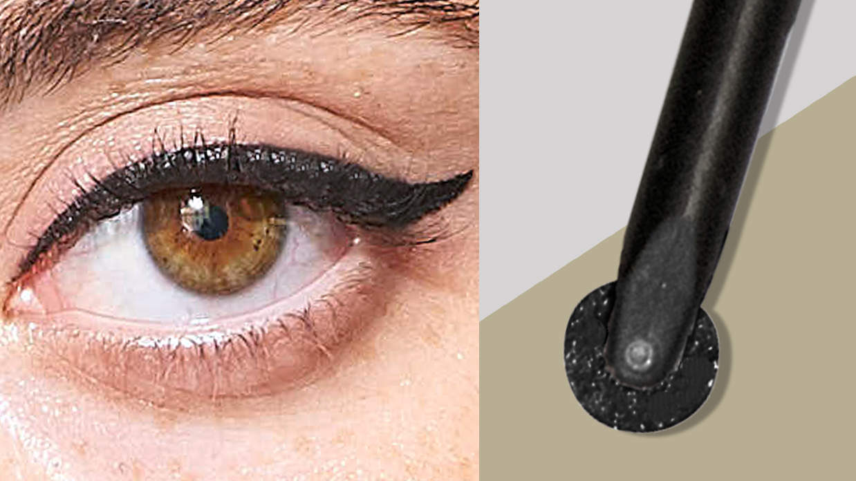 This Eyeliner Looks Like a Pizza Cutter and Gives Me the Perfect Cat Eye