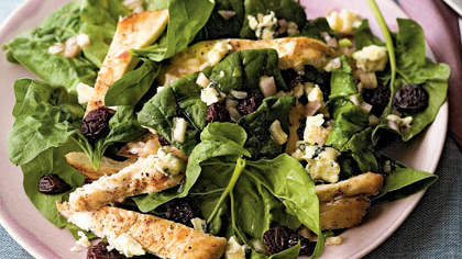 Blue Cheese-Chicken Salad