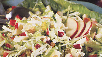 Cabbage-Pineapple Slaw