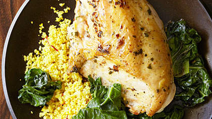 chicken-saffron-couscous