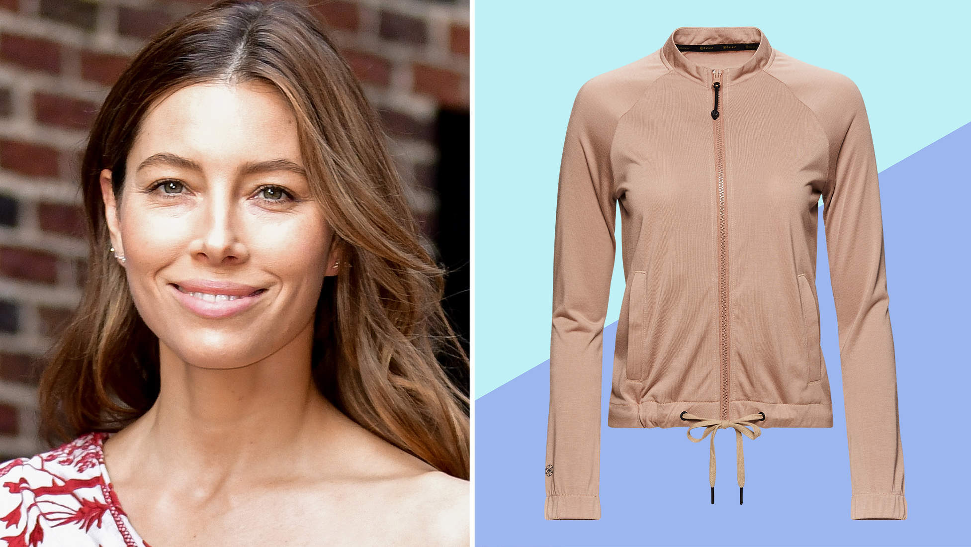 You Can Finally Shop Jessica Biel's Yoga Collection With Gaiam