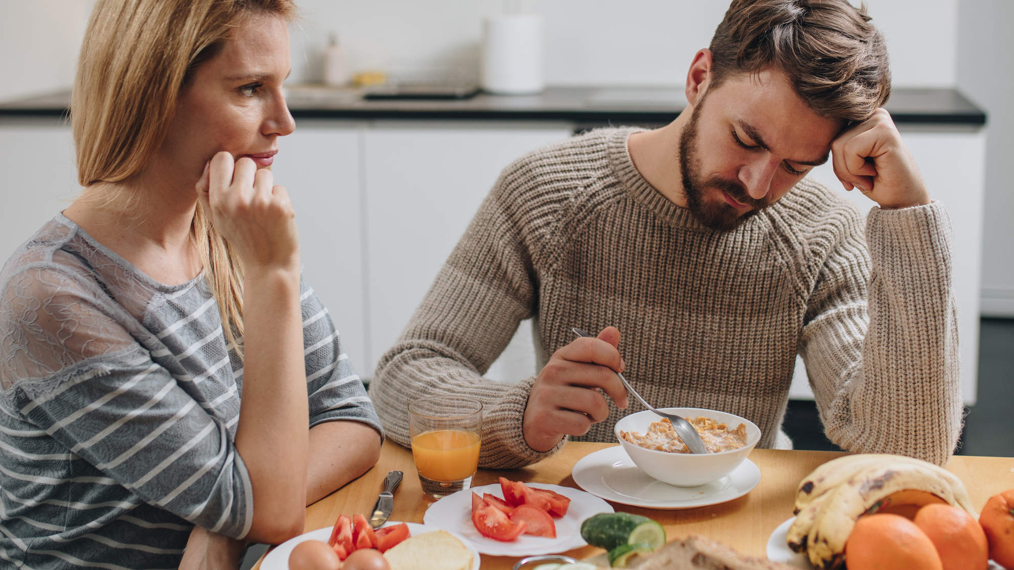 How My Relationship With Food Changed After I Moved in With My Boyfriend