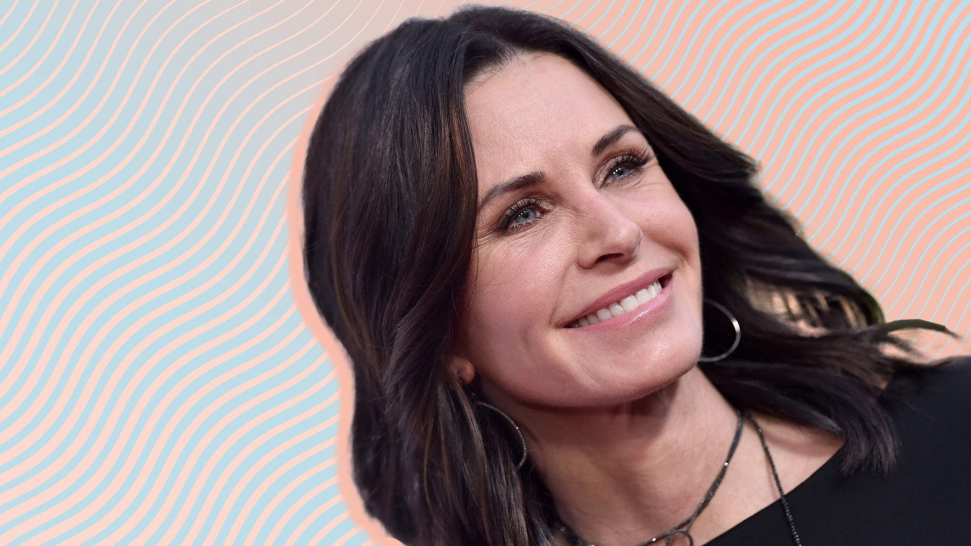 Courtney Cox's New, Trendy Chop Is Basically the Anti-Monica Geller