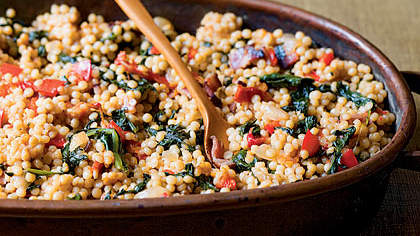 Couscous-and-Spinach Stuffing