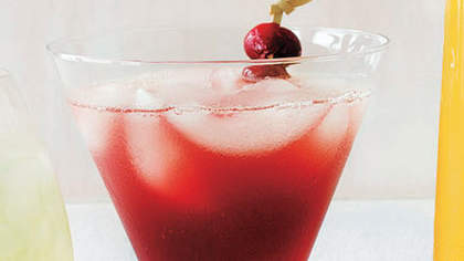 Mulled Cranberry Cocktail