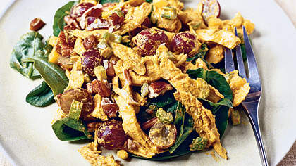Curried Chicken-Spinach Salad