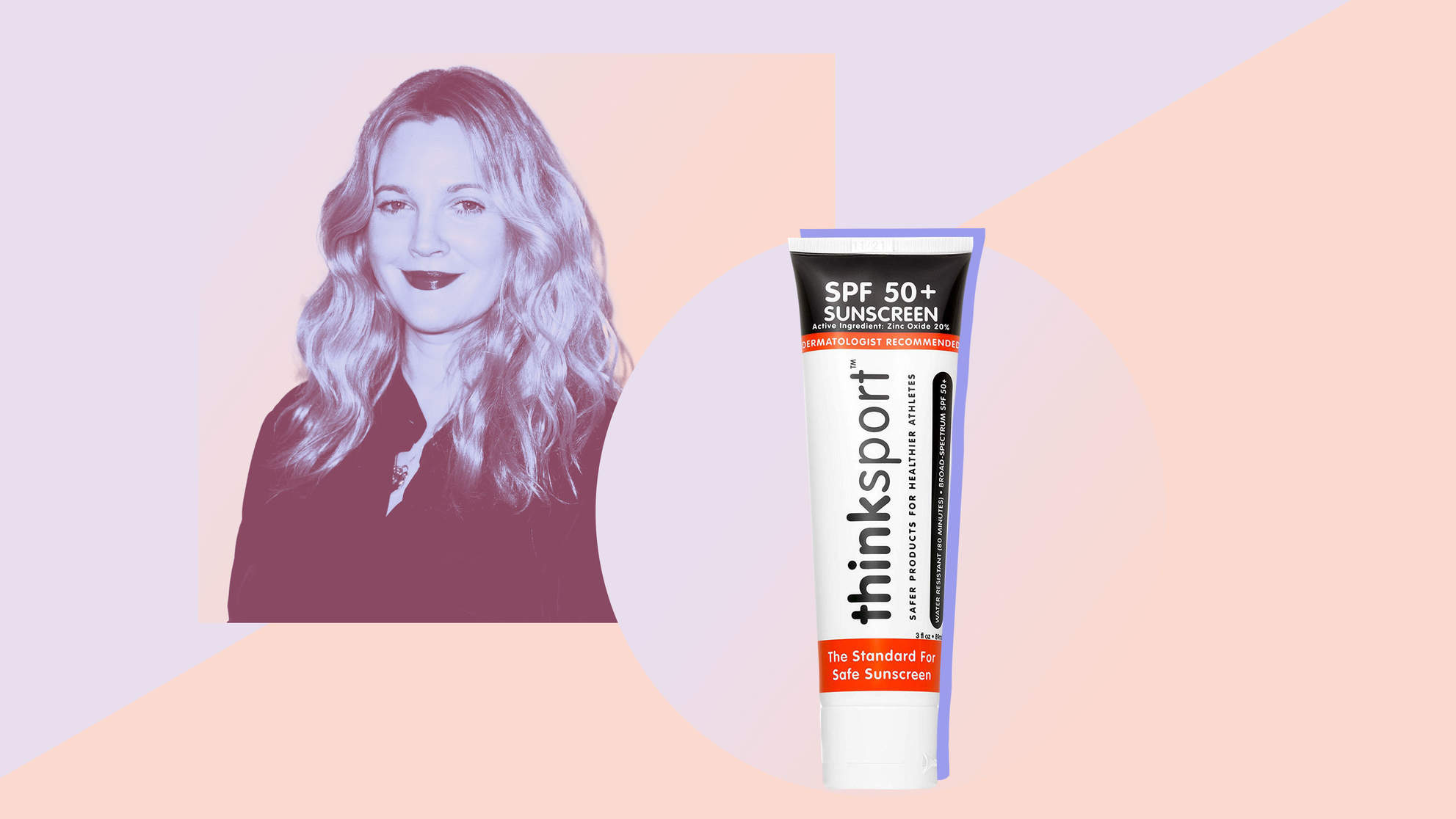 Drew Barrymore Wears This Sunscreen Every Single Day—and Derms Swear By It Too
