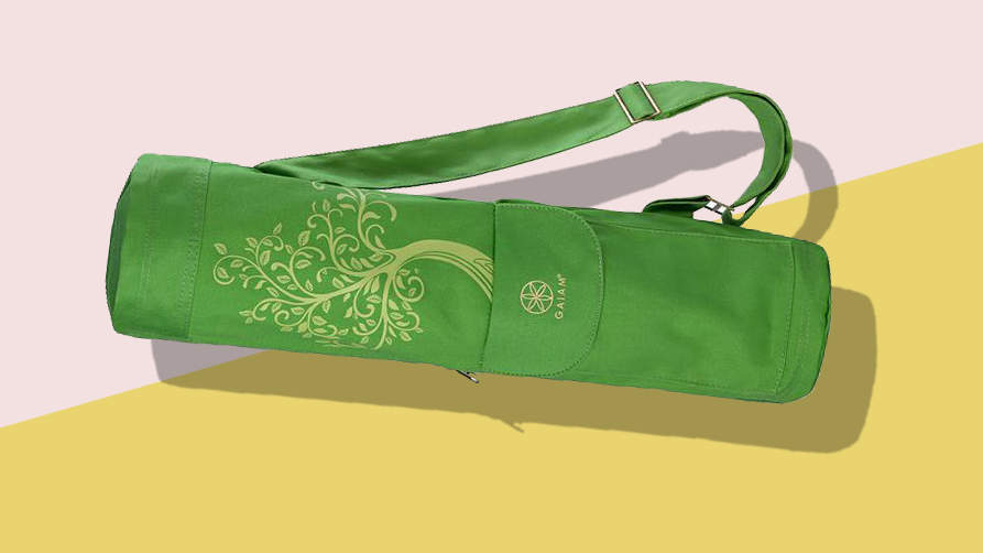 The $20 Mat Bag That Motivates Me for Yoga Class