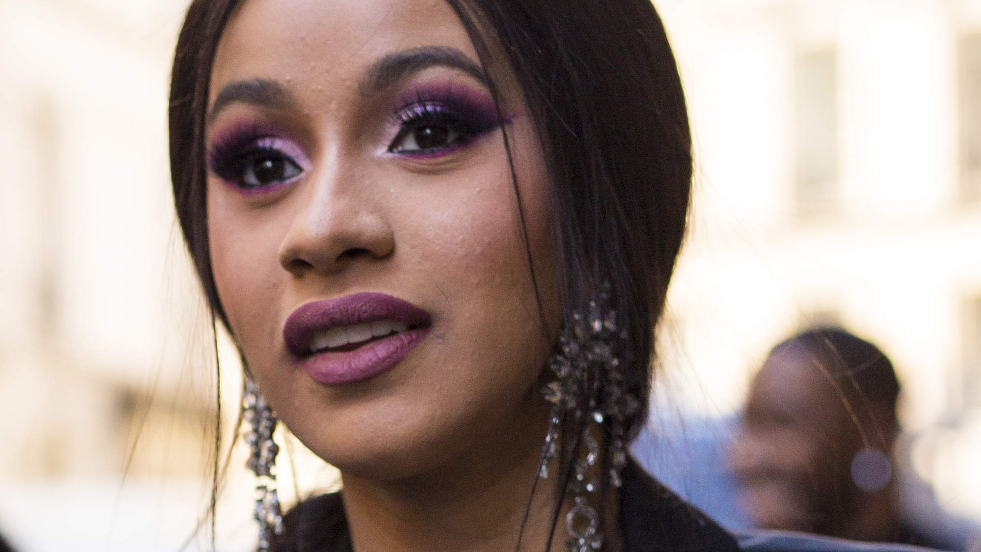 Cardi B Shows Off Post-Baby Stomach and Asks Fans How to 'Get Rid of the Black Line' After Birth