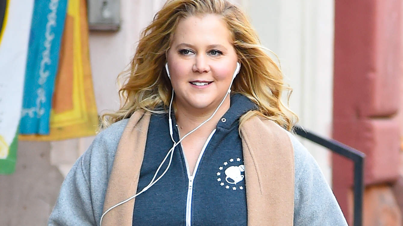 Amy Schumer Shares Ultrasound Video of Her Baby: 'It Has So Much Energy—That's Why I'm Puking'