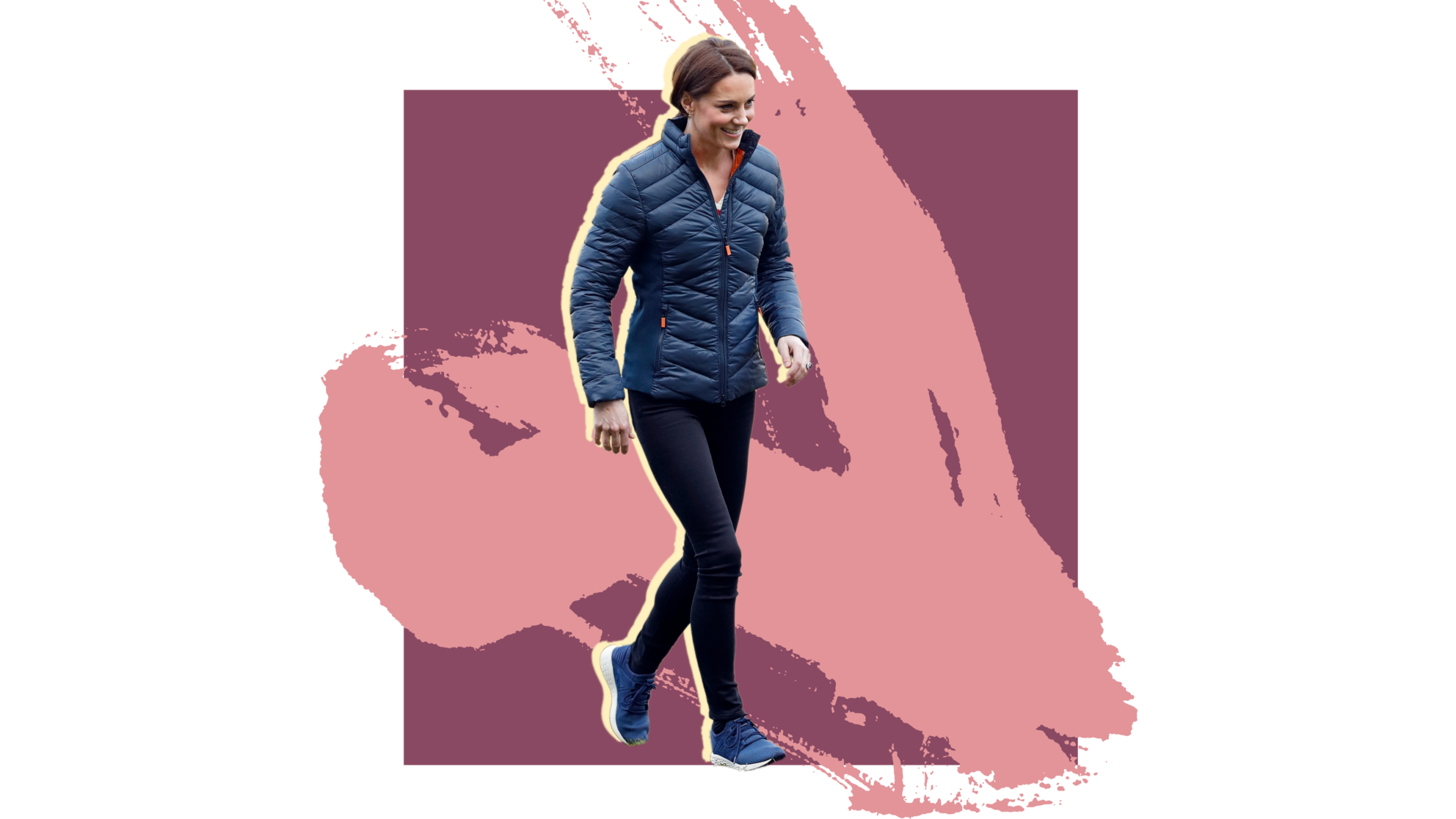 kate-middleton sneakers soccer football woman exercise workout health wellbeing sport