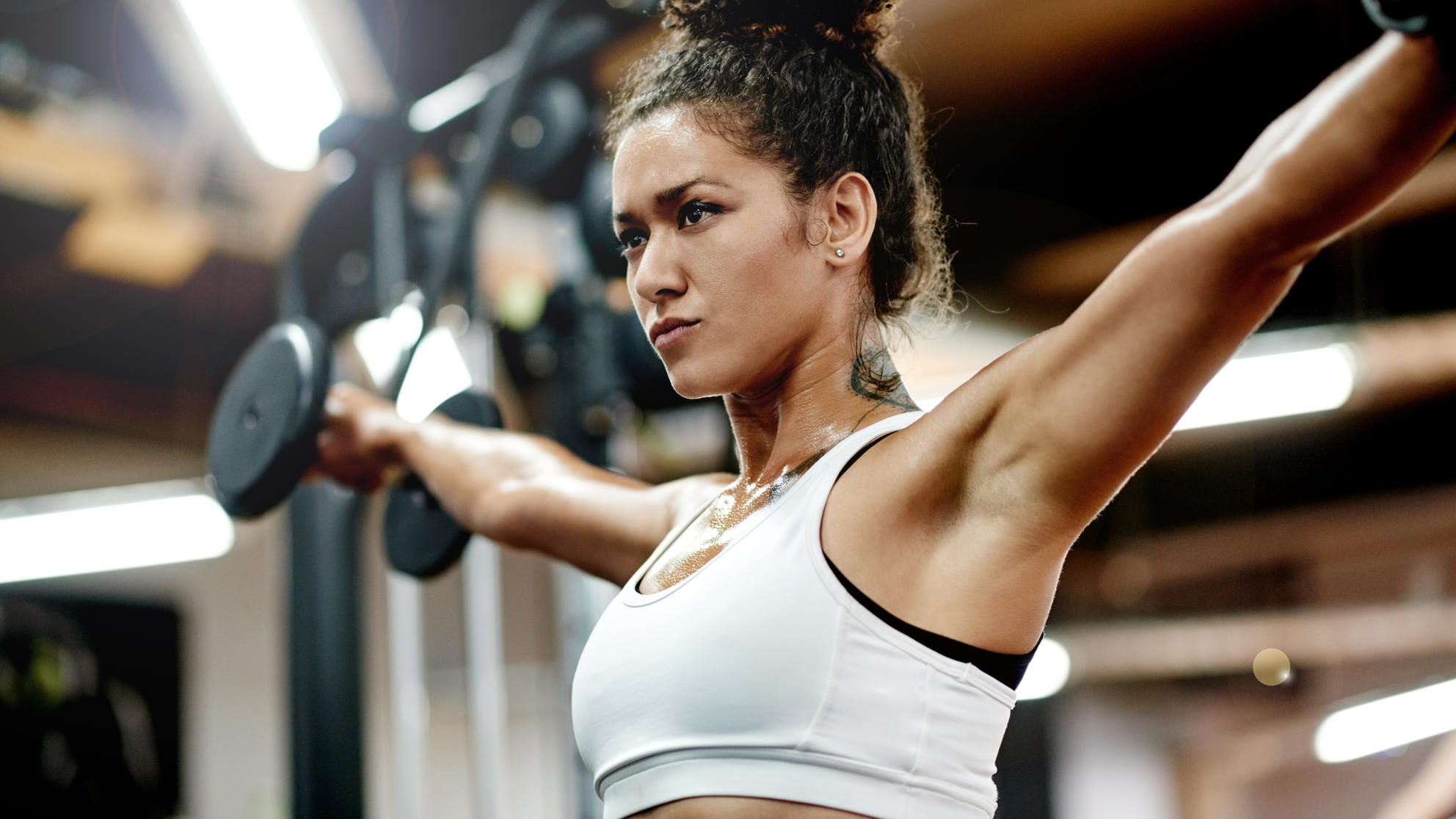 7 Upper-Body Exercises That Banish Bra Bulge