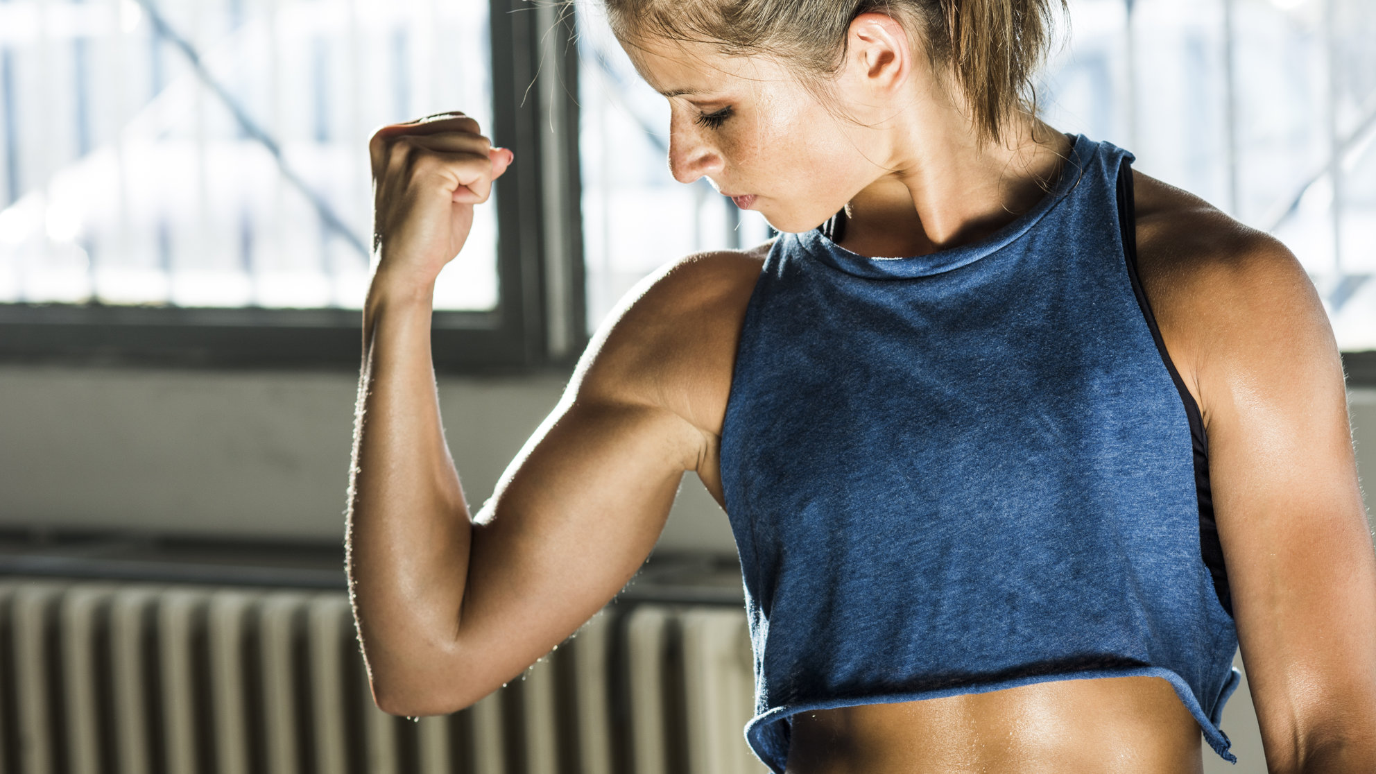 Got 4 Minutes? That's All You Need for This Upper-Body Tabata Routine