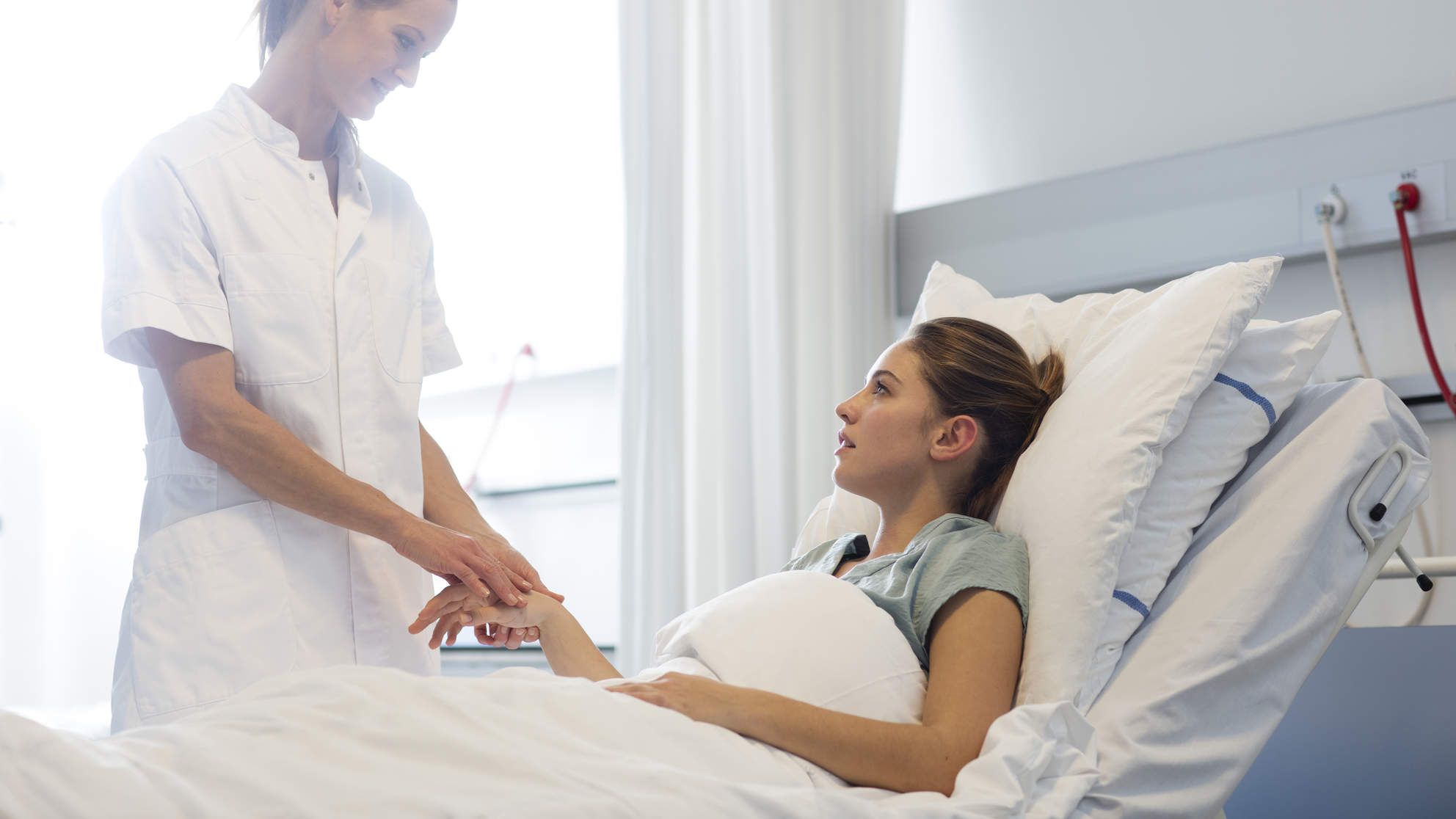 young-cancer-hospital-bed
