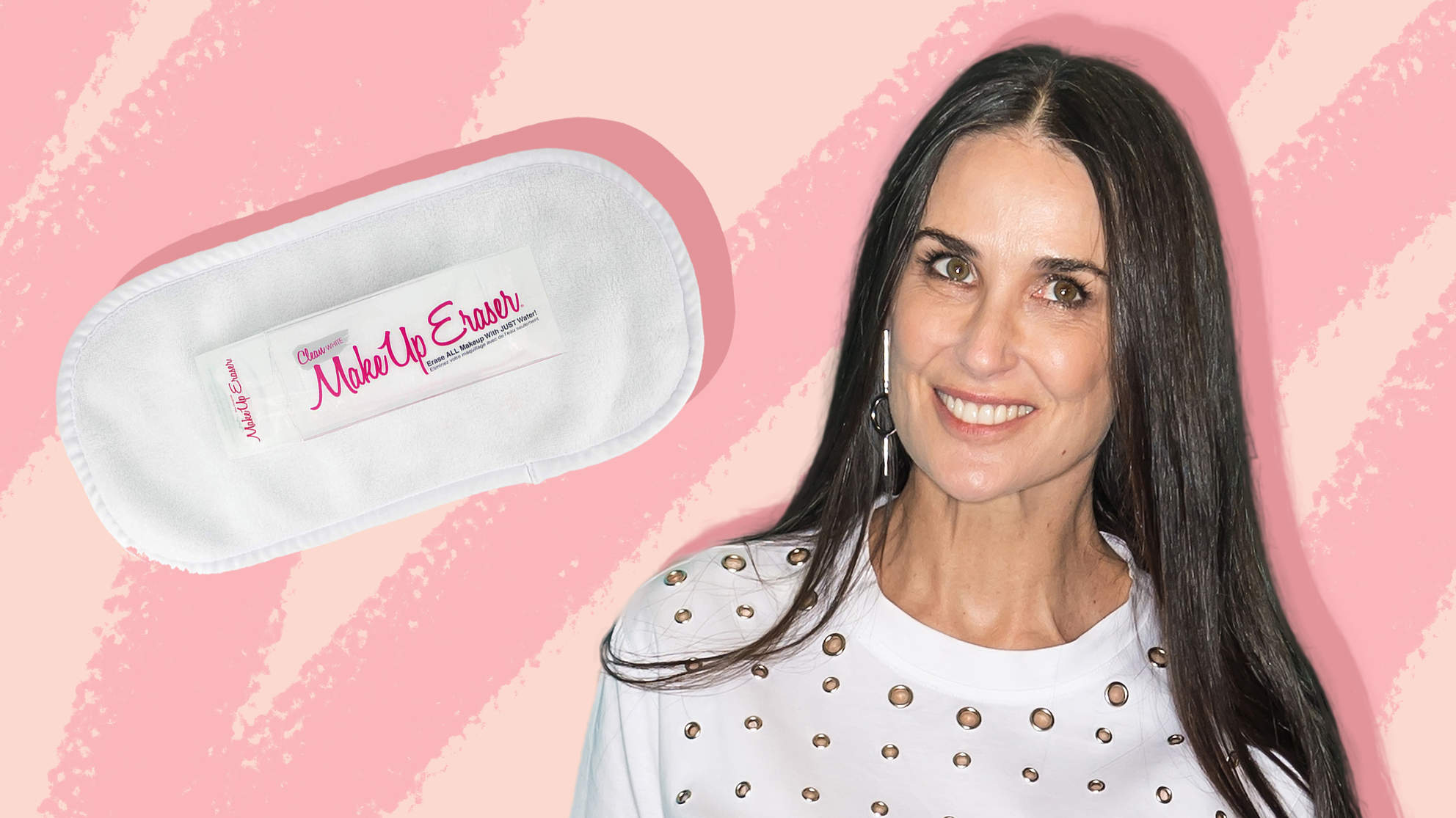 Demi Moore Swears by the MakeUp Eraser for Her Anti-Aging Skincare Routine