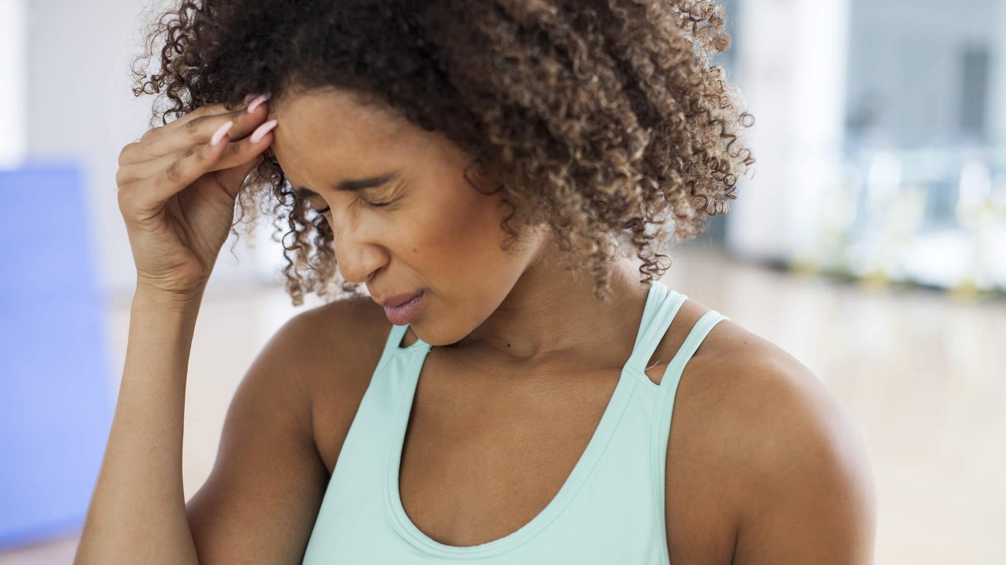 What to Do When a Headache Strikes in the Middle of a Workout