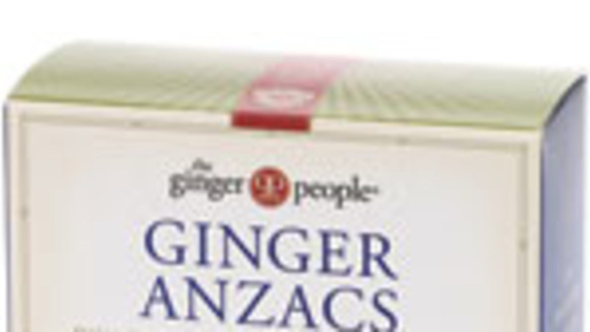 The Ginger People Ginger Anzacs