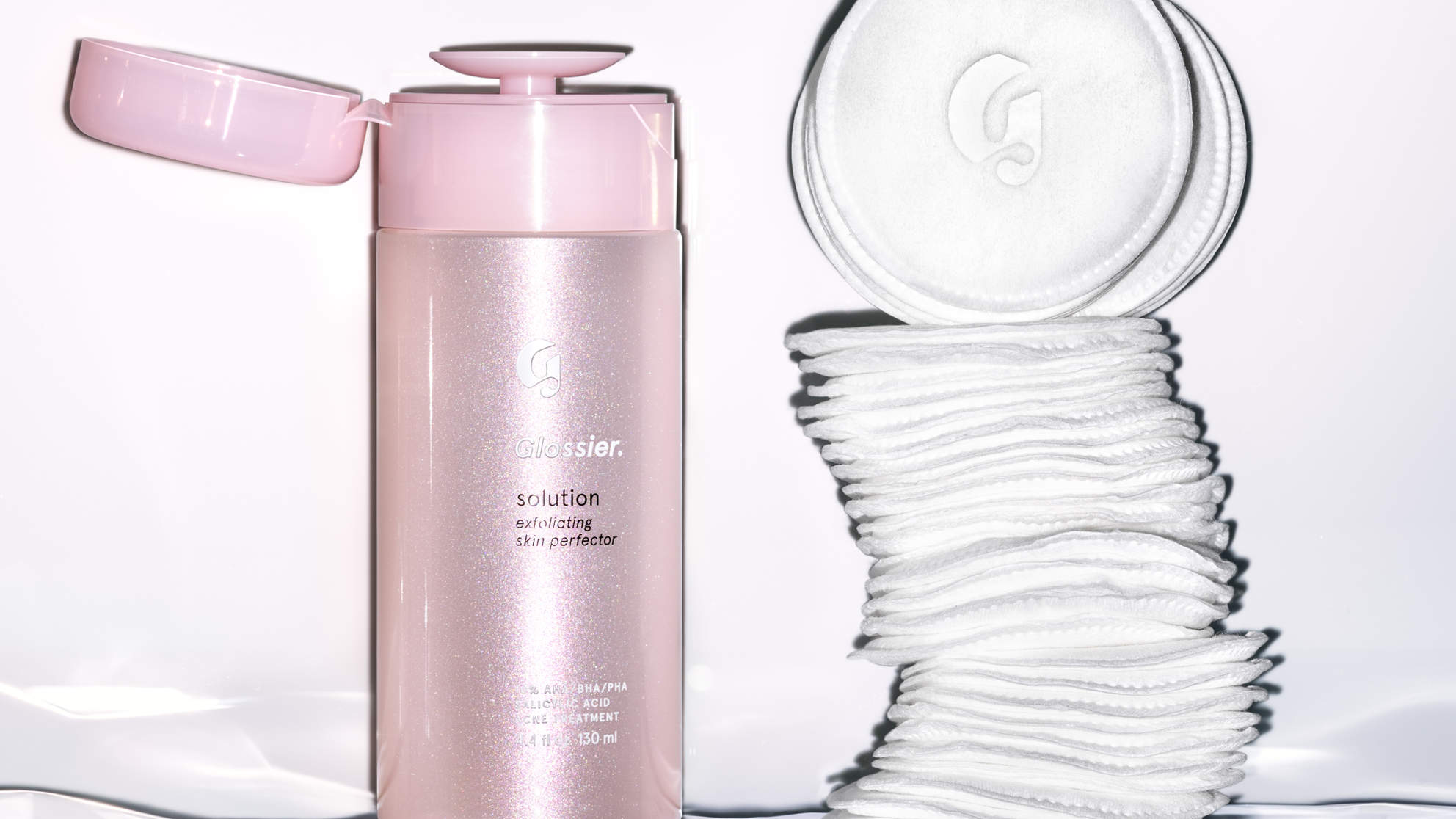 Glossier's New Exfoliating Product Is Here to Help Clear Your Acne