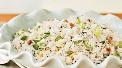 Herbed Basmati Rice