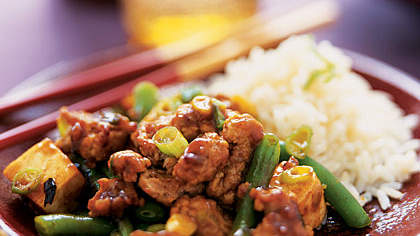 Hoisin Pork with Green Beans