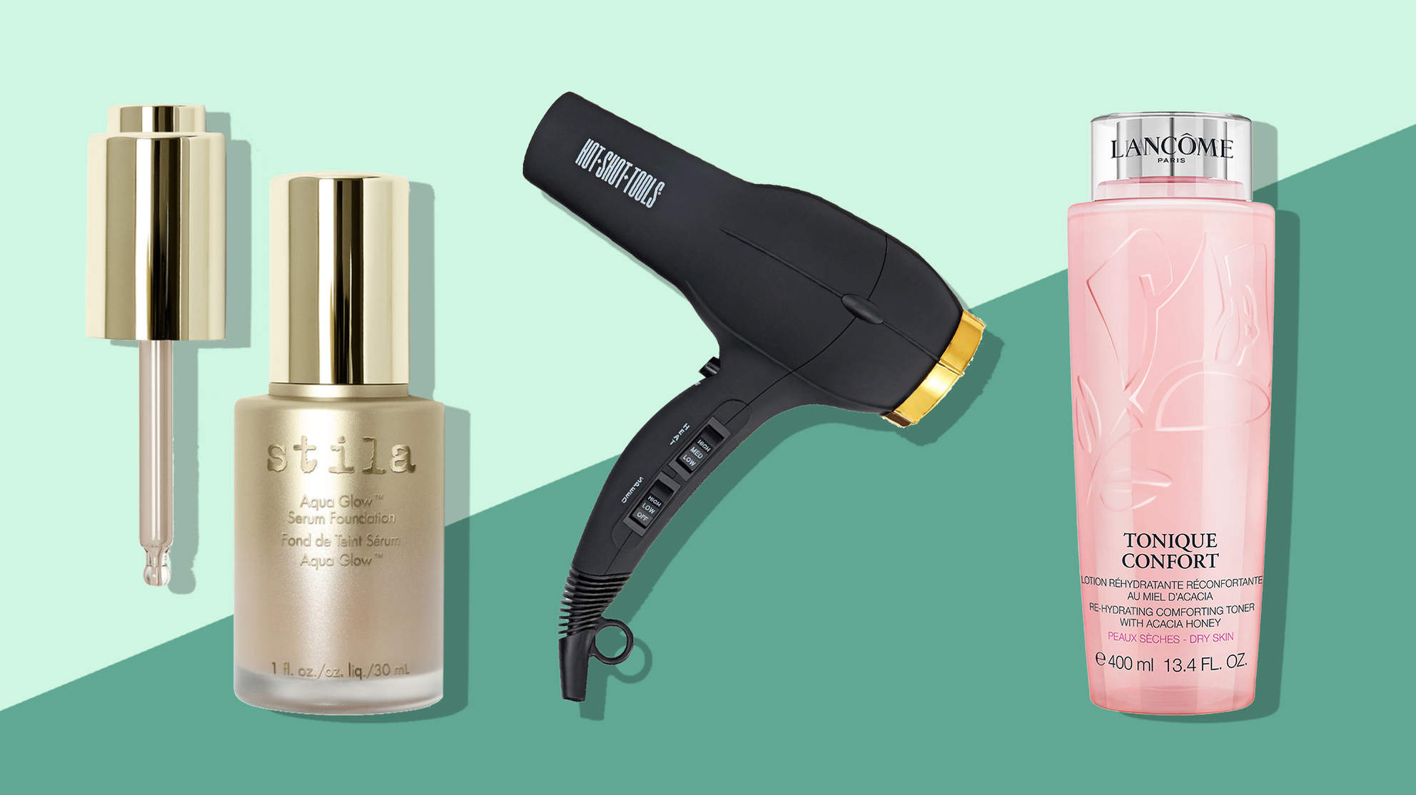 Black Friday 2017 Dermstore: Stila Serum Foundation, Sally Beauty: ceramic hair dryer hair tools, lord and taylor: lancome comforting rehydrating toner,