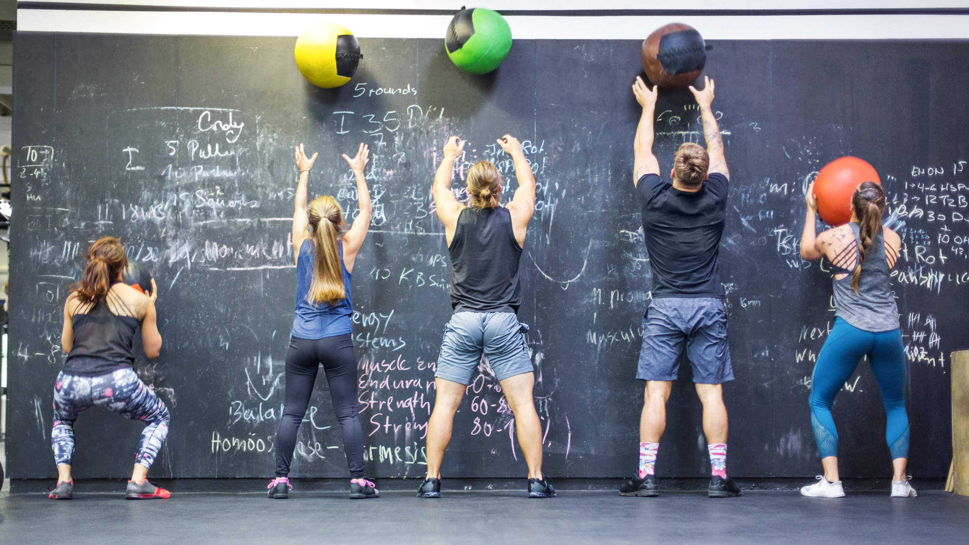 Wall Balls Are the One Exercise You Need for Your Butt, Arms, and Core