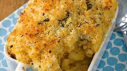 Individual Baked Mac and Cheese