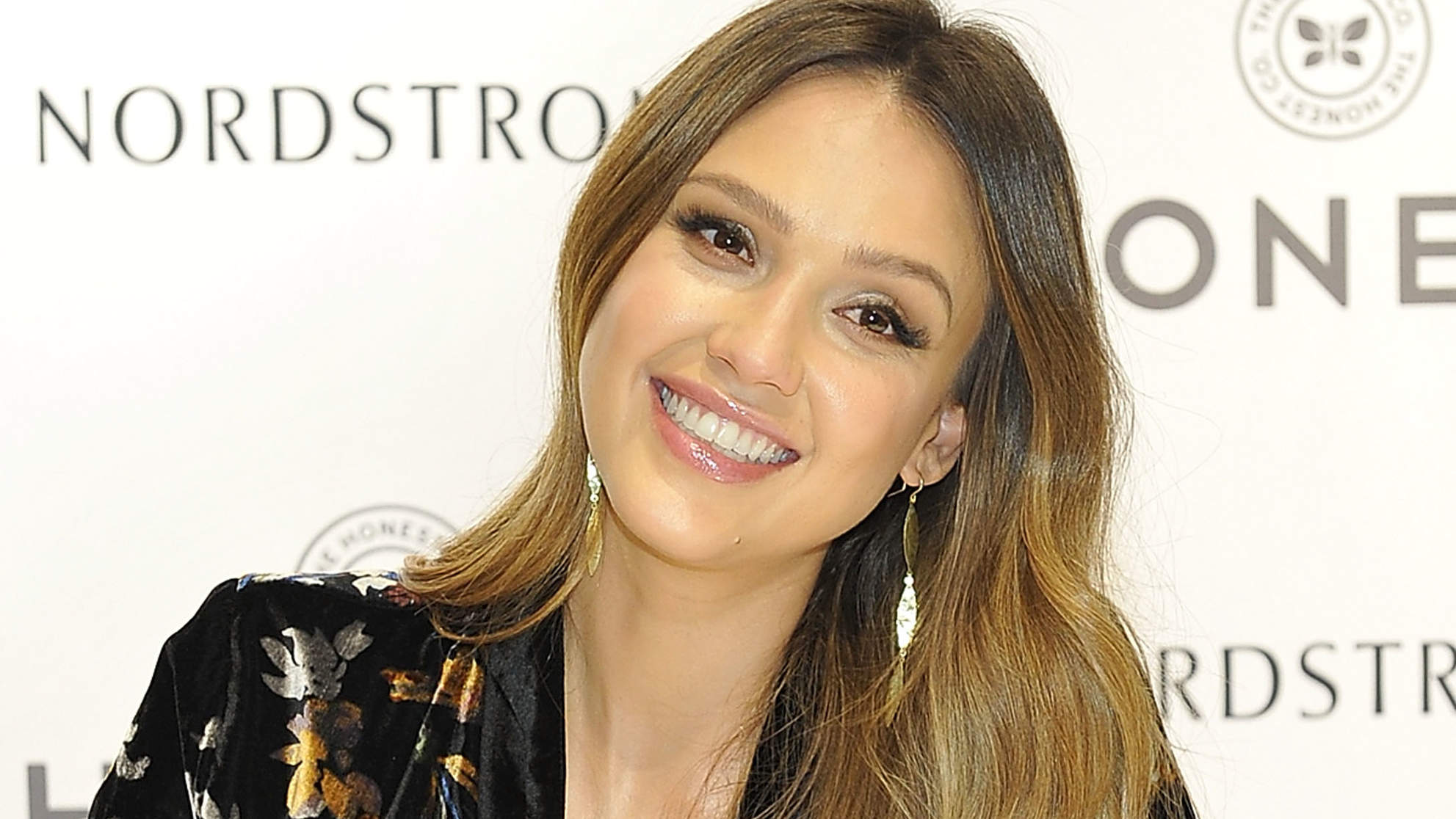 Jessica Alba Breastfeeds Infant Son Hayes in a Target Dressing Room