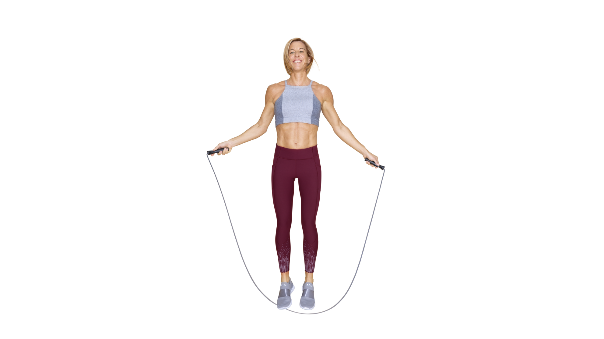 Jump Rope HIIT Workout Routine by Kira Stokes - Health