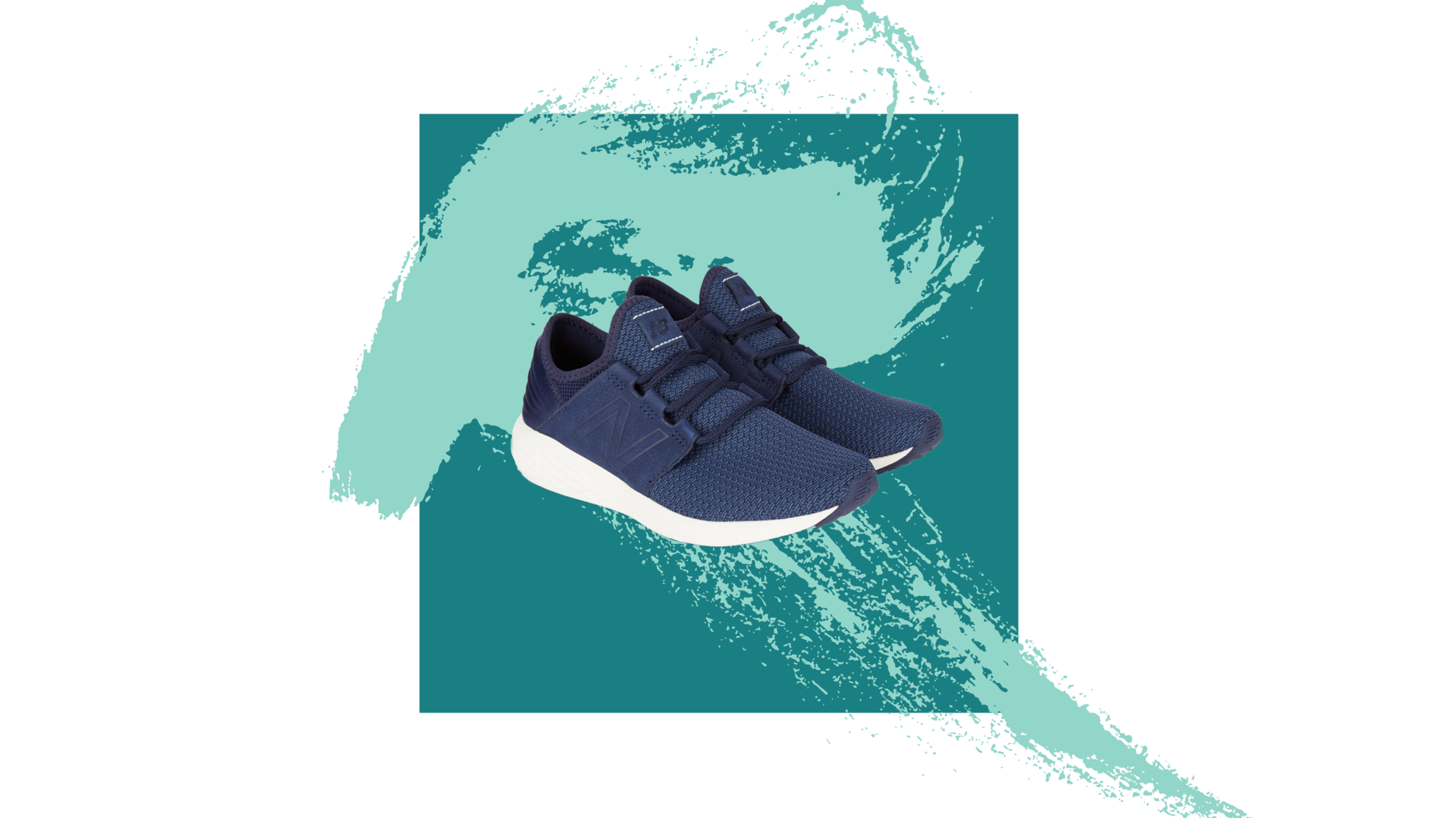 New-Balance sneakers woman health exercise