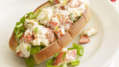 Lemon-Tarragon Lobster Roll