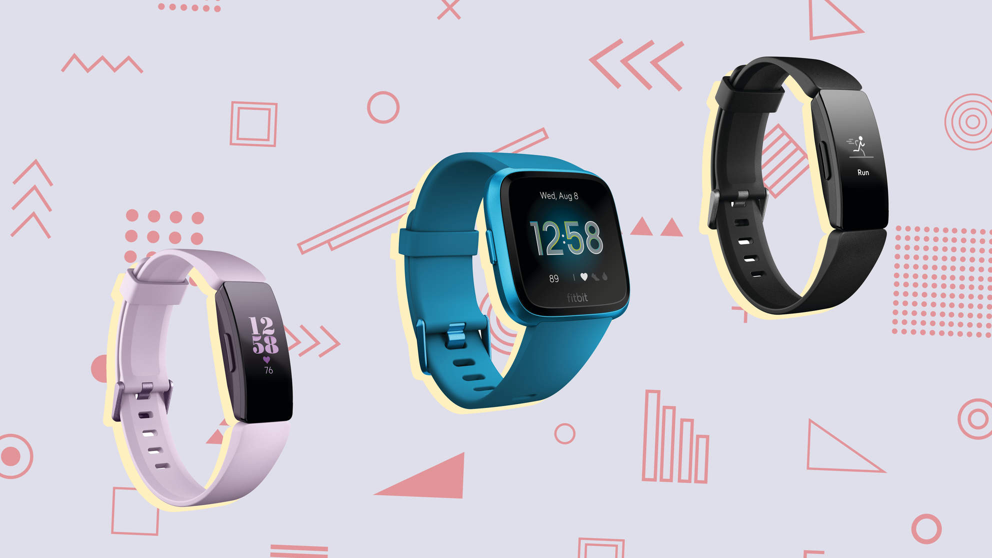 Fitbit Versa Lite, Fitbit Inspire HR, and Fitbit Inspire Launch