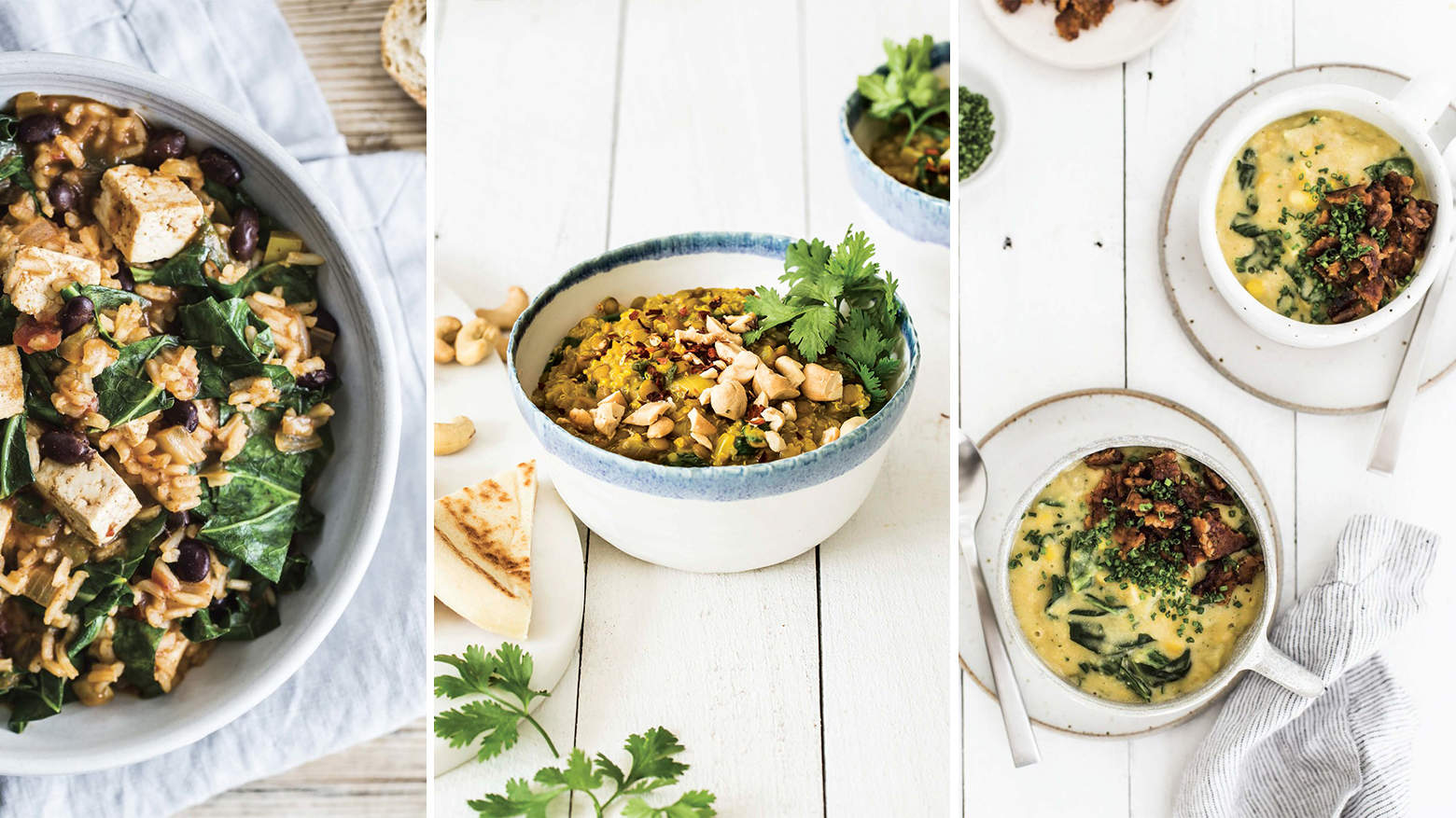3 Hearty One-Dish Vegan Recipes a Nutritionist Makes for Dinner