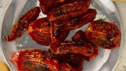 Oven-Roasted Thyme Tomatoes