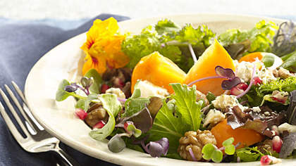 persimmon-blue-cheese-salad
