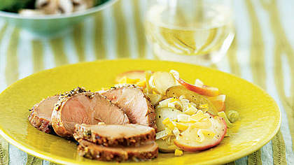 herb-pork-apples