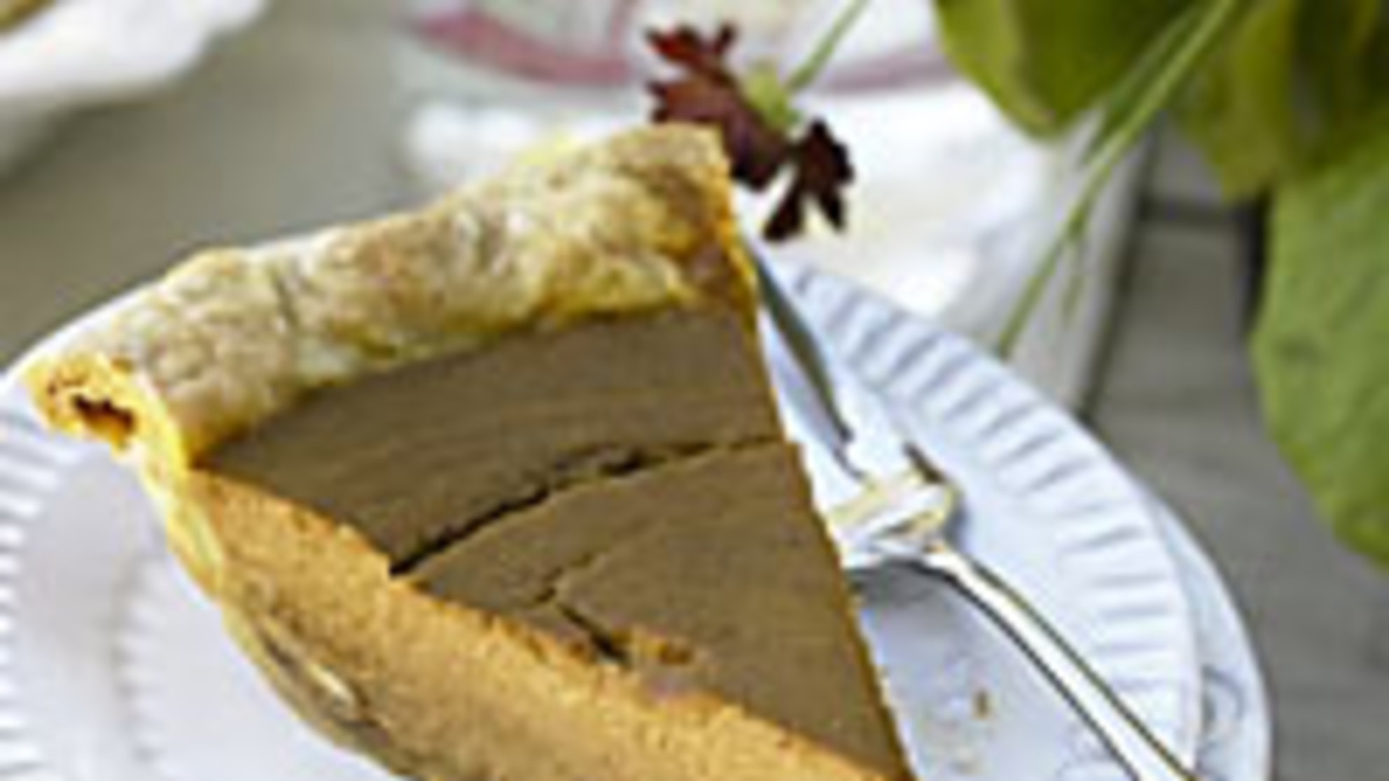 Healthiest Thanksgiving: Pumpkin Pie Packed With Vitamin A and Fiber