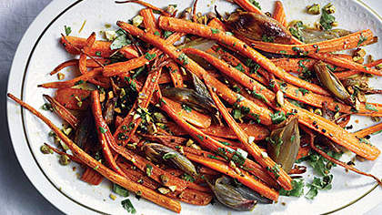 Roasted Carrots With Citrus Dressing
