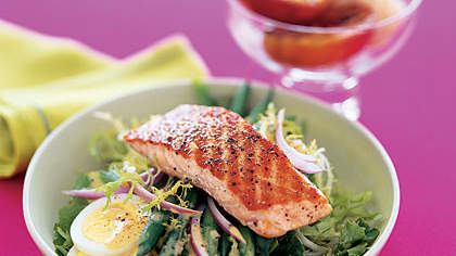 Salmon Salad With Vinaigrette