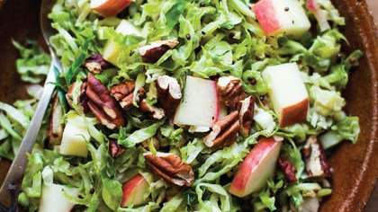 shredded-brussels-sprouts-with-apples-mustard-seeds