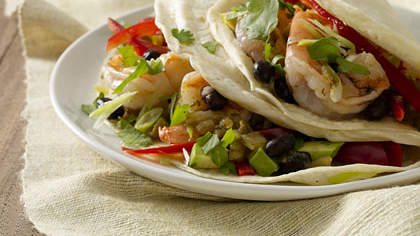 Cilantro-Lime Shrimp Tacos