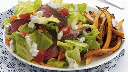 sirloin-salad-sweet-potato